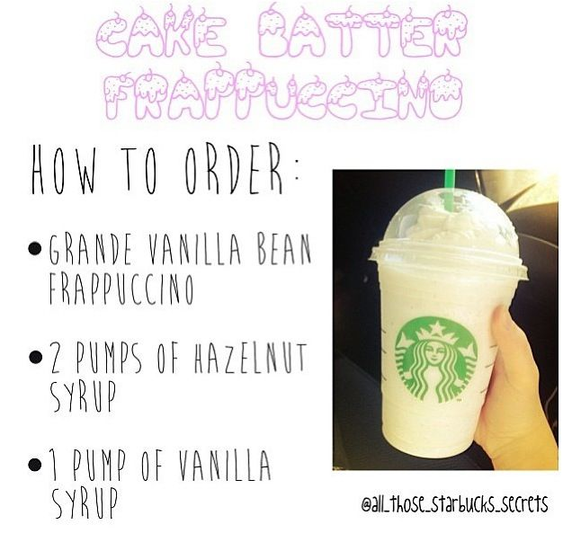How To Order Cake Batter Frappuccino